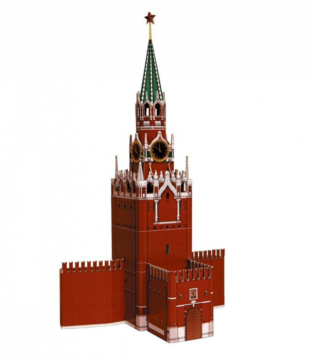 Схема спасской башни