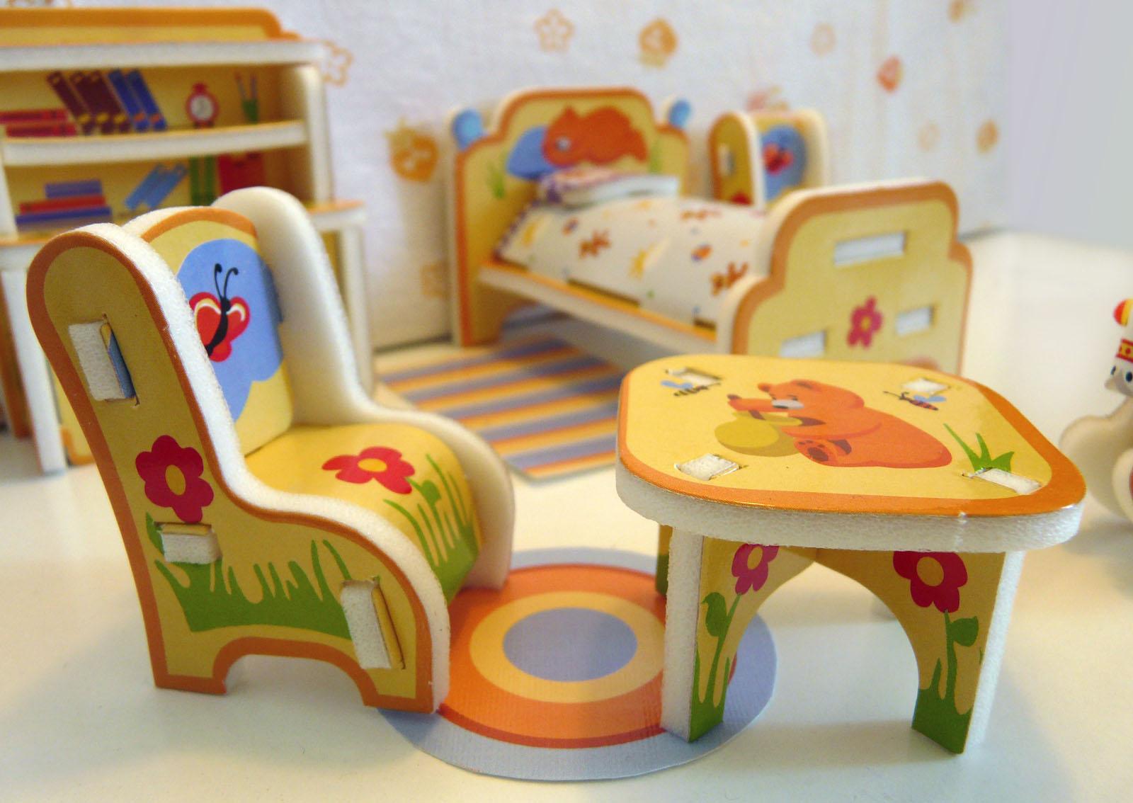 Фото мебель для детской комнаты своими руками