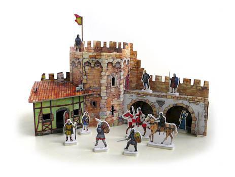 Рыцарский замок как сделать
